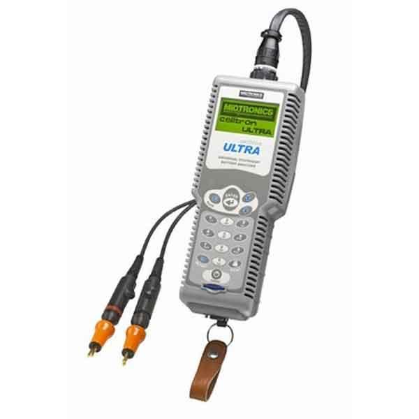 Midtronics Battery Tester : Celltron ultra stationary battery analyzer complete kit