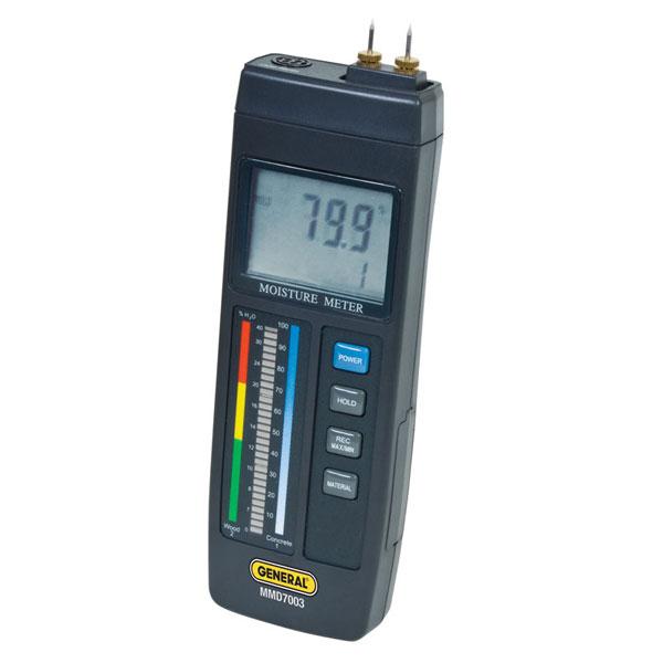 Digital Moisture Meter : General tools instruments mmd precision digital