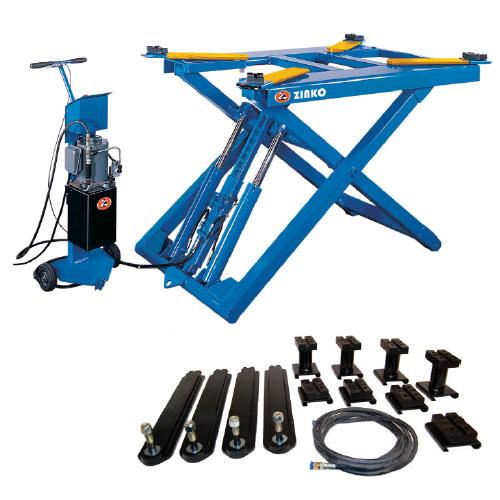 Portable Pneumatic Lift Arms : Portable mid rise scissor lift zinko hydraulic jack
