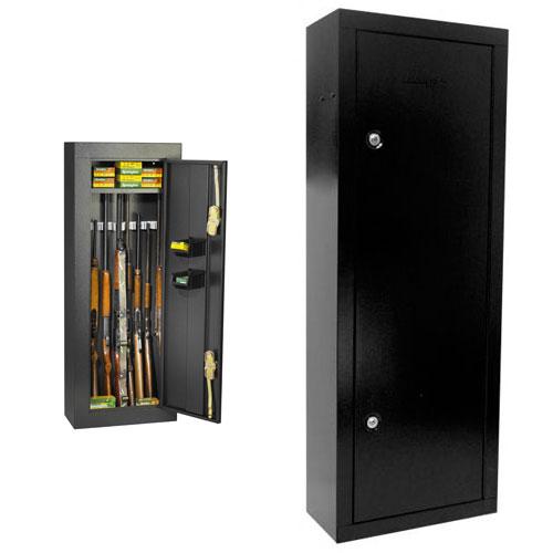Steel gun cabinet