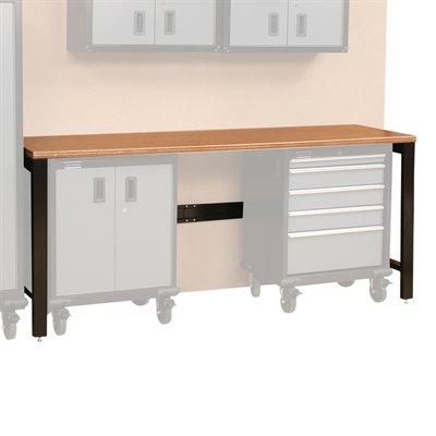 Gos I Systems 7 39 Storage Cabinet Work Bench Gray
