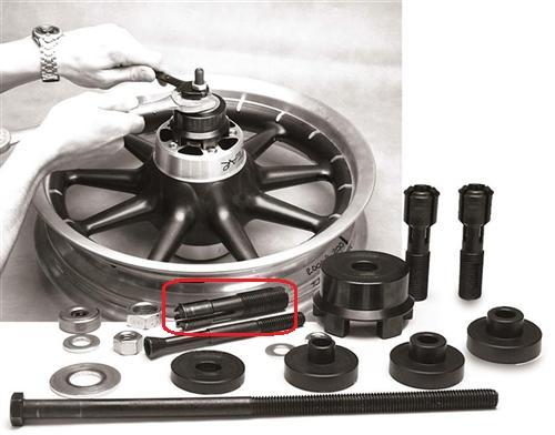 Motorcycle Wheel Bearing Puller : Wheel bearing puller jims usa