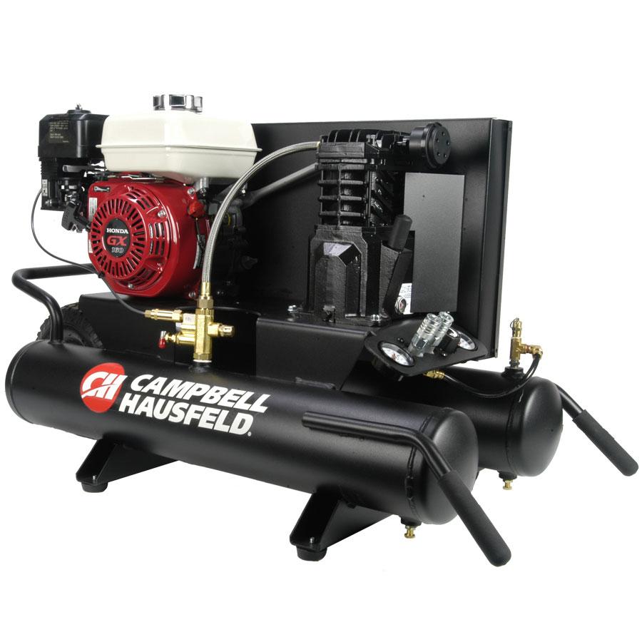 Honda Wheelbarrow Air Compressor 8 Gal Campbell Hausfeld