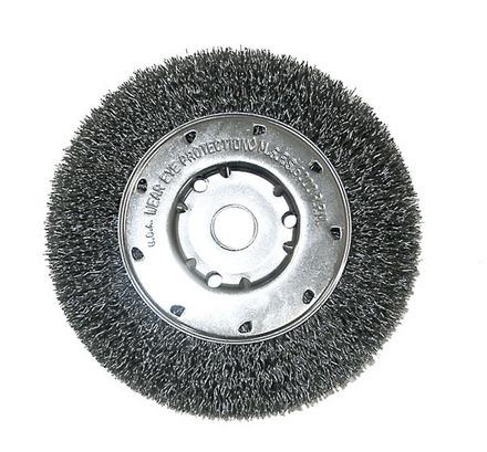 Diameter-1//2 Steel Wire Straight Wheel Pack of 5 ?2 Arbor Hole