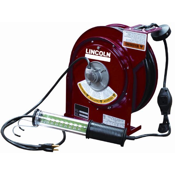 Heavy-Duty LED Light Cord Reel 50 Ft