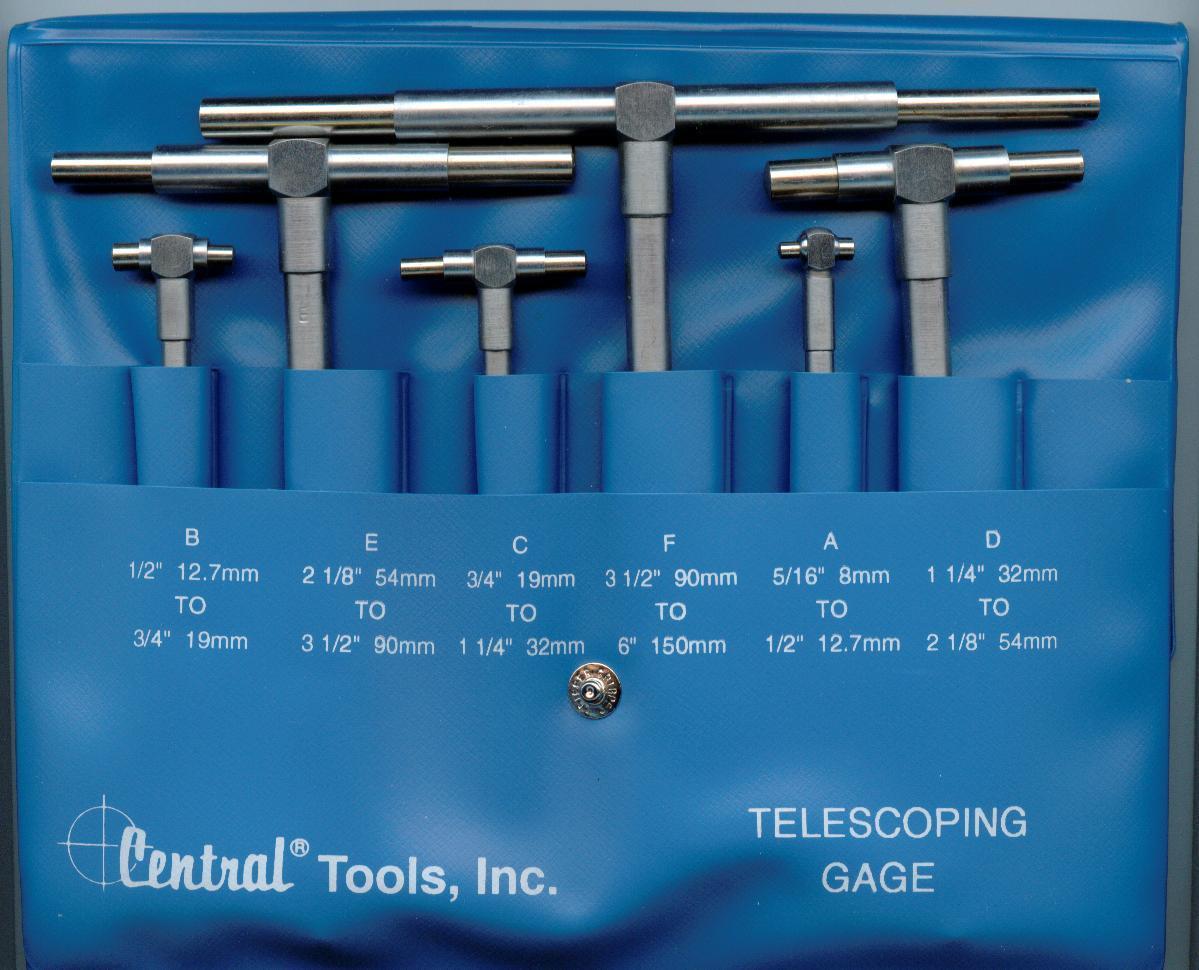 6pc telescoping gauge set