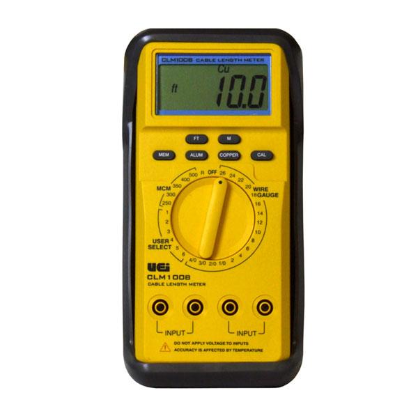 Electrical Wire Gauge Measuring Tool Digital Manifold: Cable Length Meter UEi 100B (UEICLM100B