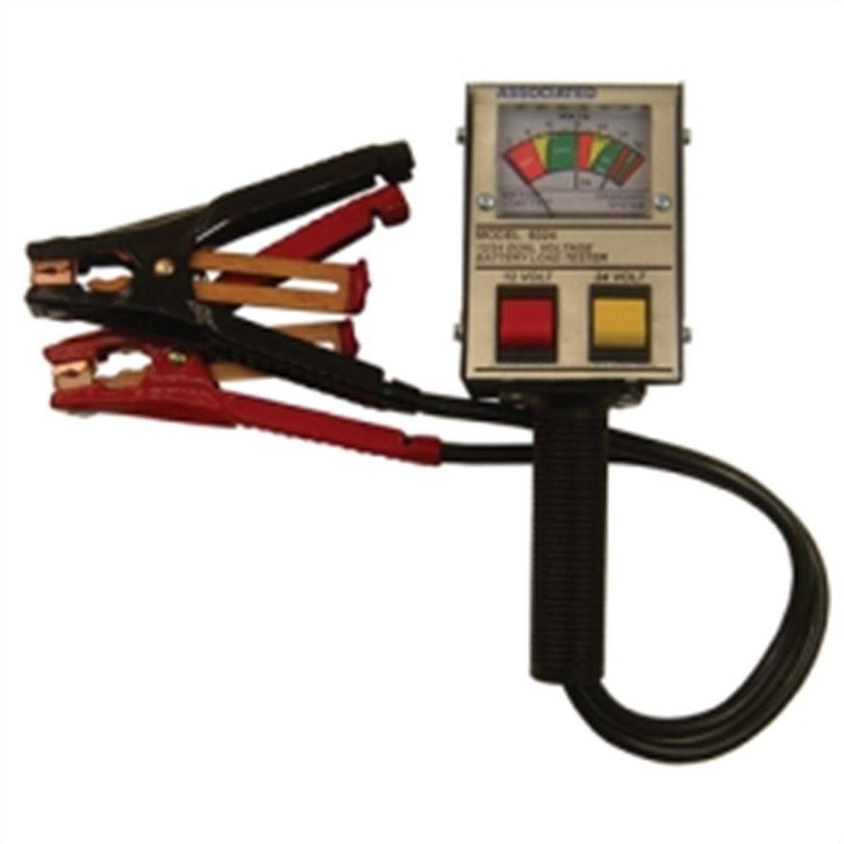 24 Volt Battery Load Tester : V load battery tester associated equipment