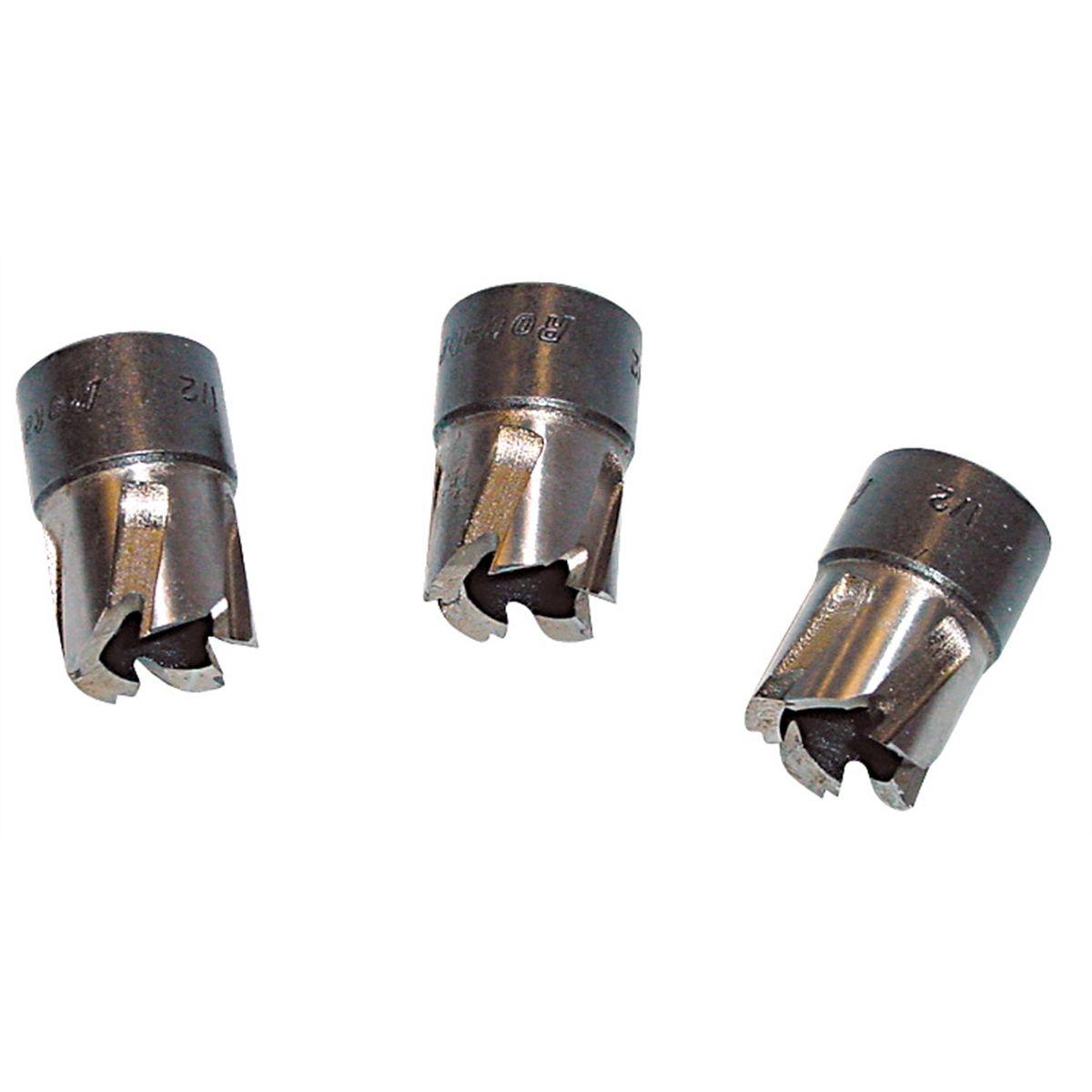 11,000 Series Rotobroach Cutters 9//16 3 Pack