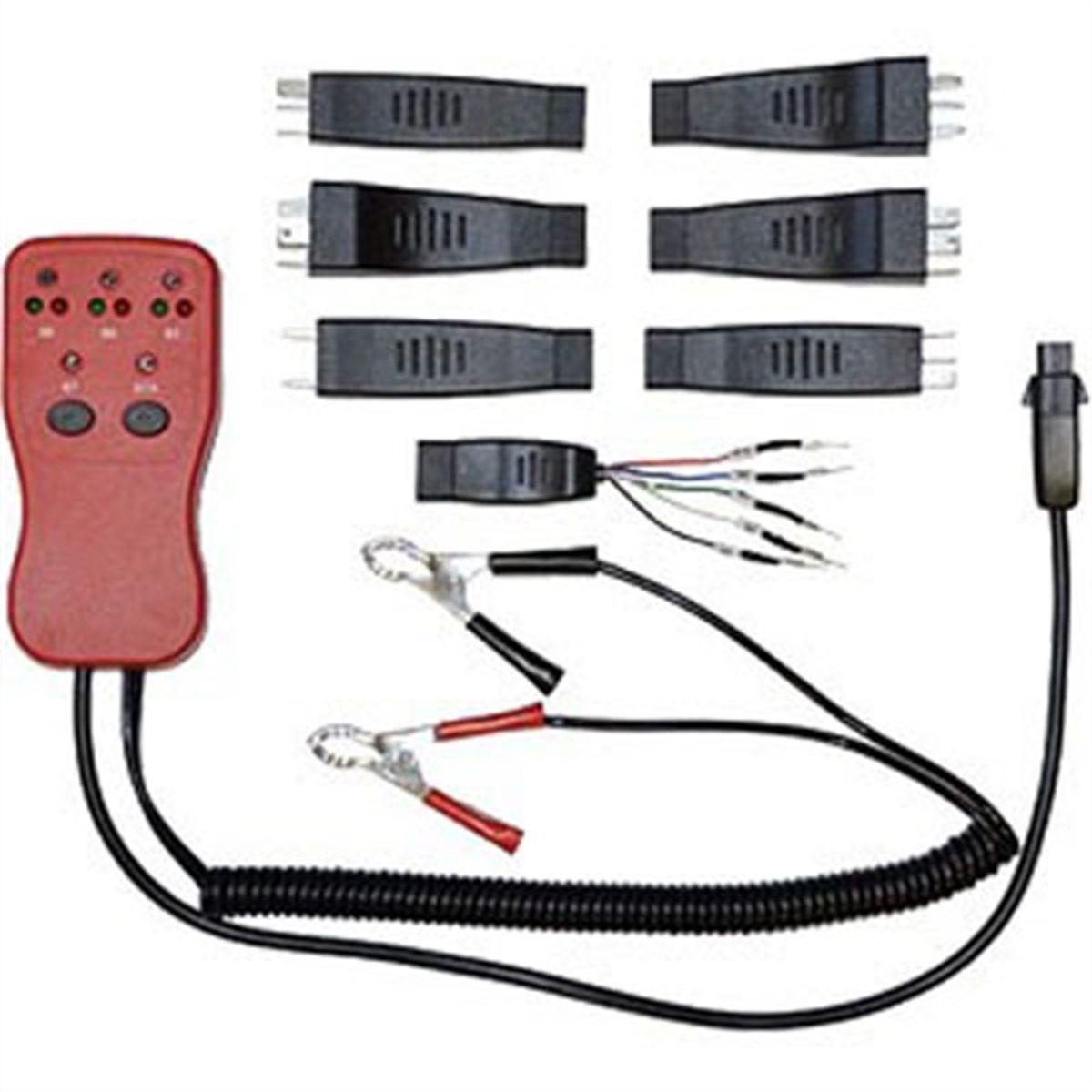 relay circuit diagnostic tester tool 12 or 24 volt cal van tools 76 rh toolsource com Master Relay Tester Mac Tools sealey ta 130 relay circuit diagnostic tester