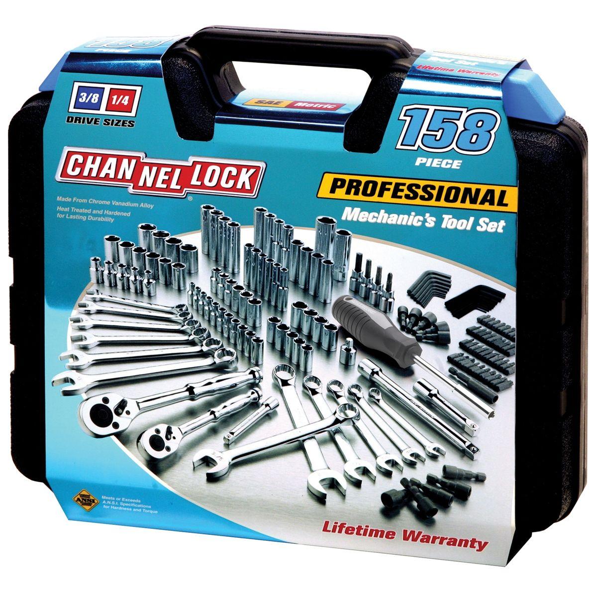 Channellock 39067 132 Pc Mechanics Tool Set