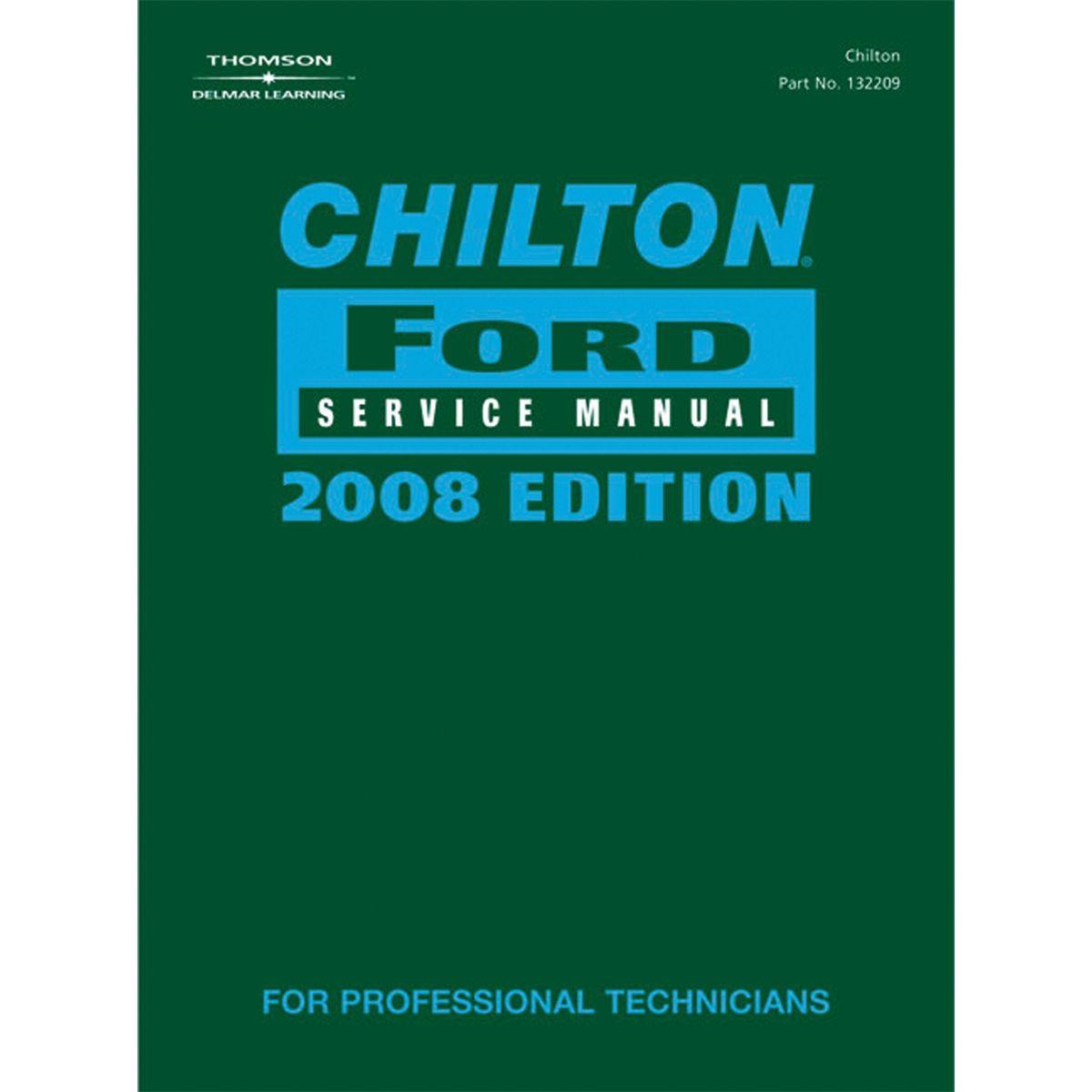 Ford Service Manuals: Chilton 142208 Ford Service Manual