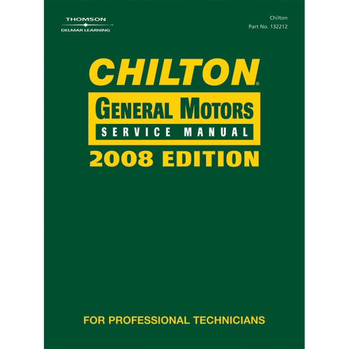 General Motors Service Manual - 2008 Edition Volume 1 & 2