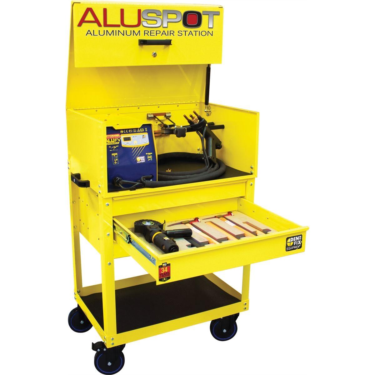 Aluspot Deluxe Aluminum Repair Station Dent Fix