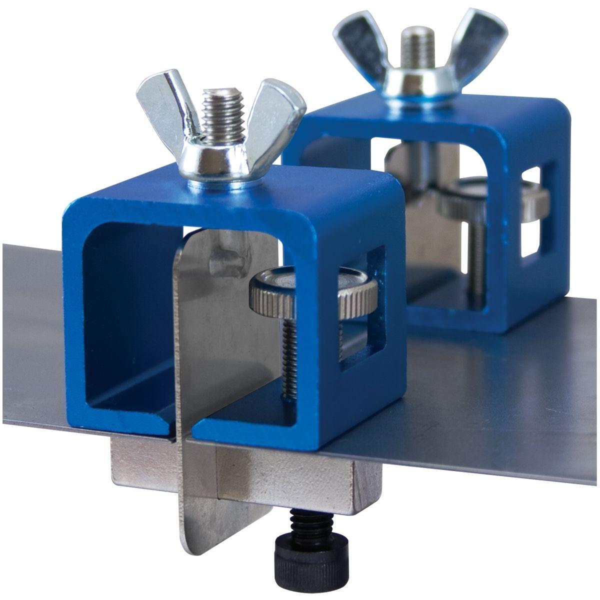 Braze Aluminium Panel : Butt weld clamps pc dent fix equipment df bc