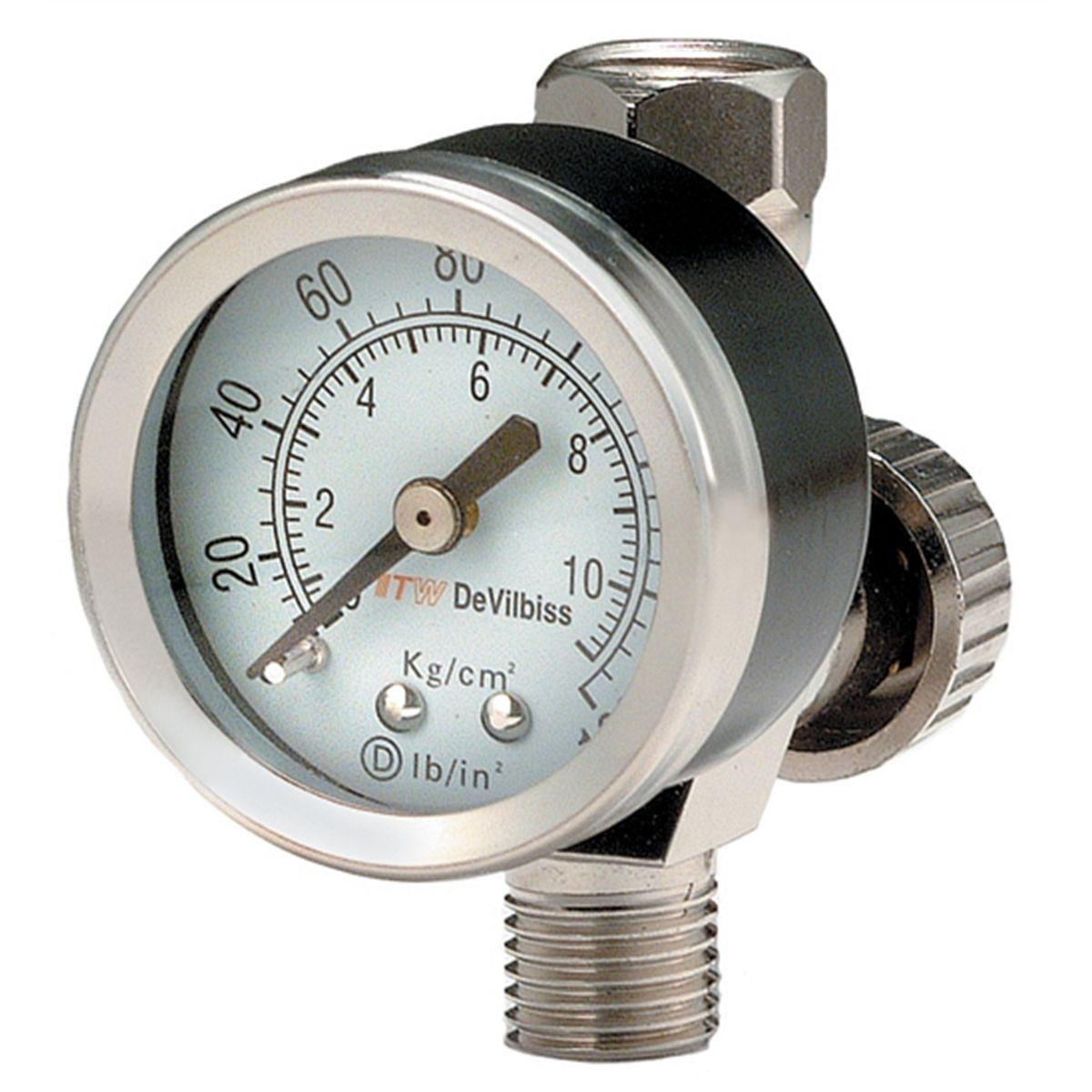 For Devilbiss+Iwata Spray Tool Pressure Regulator Adjustment Compressor