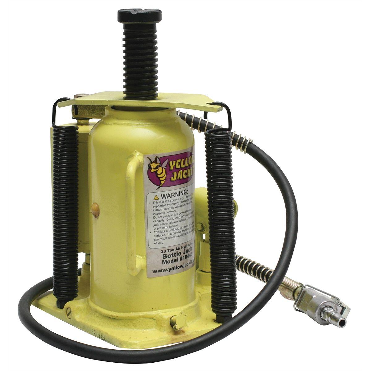 esco equipment 20 ton air hydraulic bottle jack
