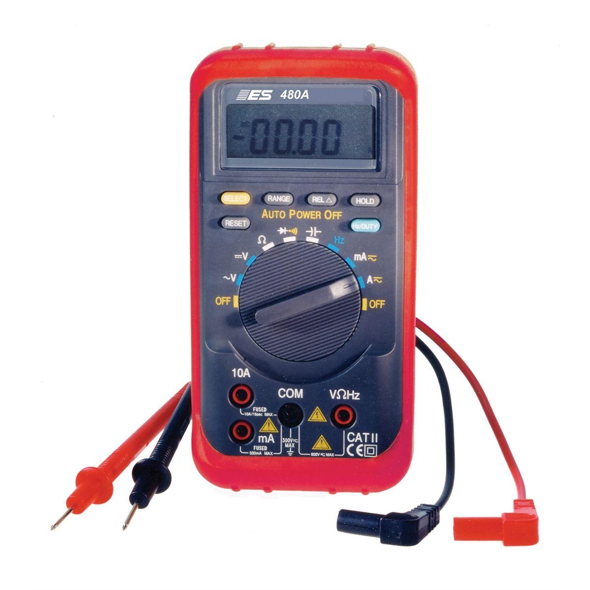 Automotive Digital Multimeter : Auto ranging digital multimeter esi a
