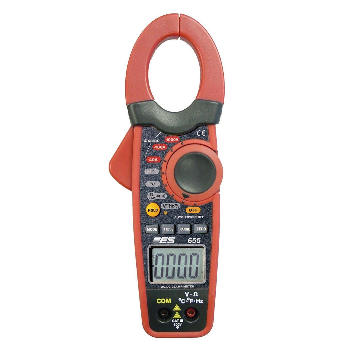 Induction Amp Meter Pick Up : Amp current probe digital multimeter esi