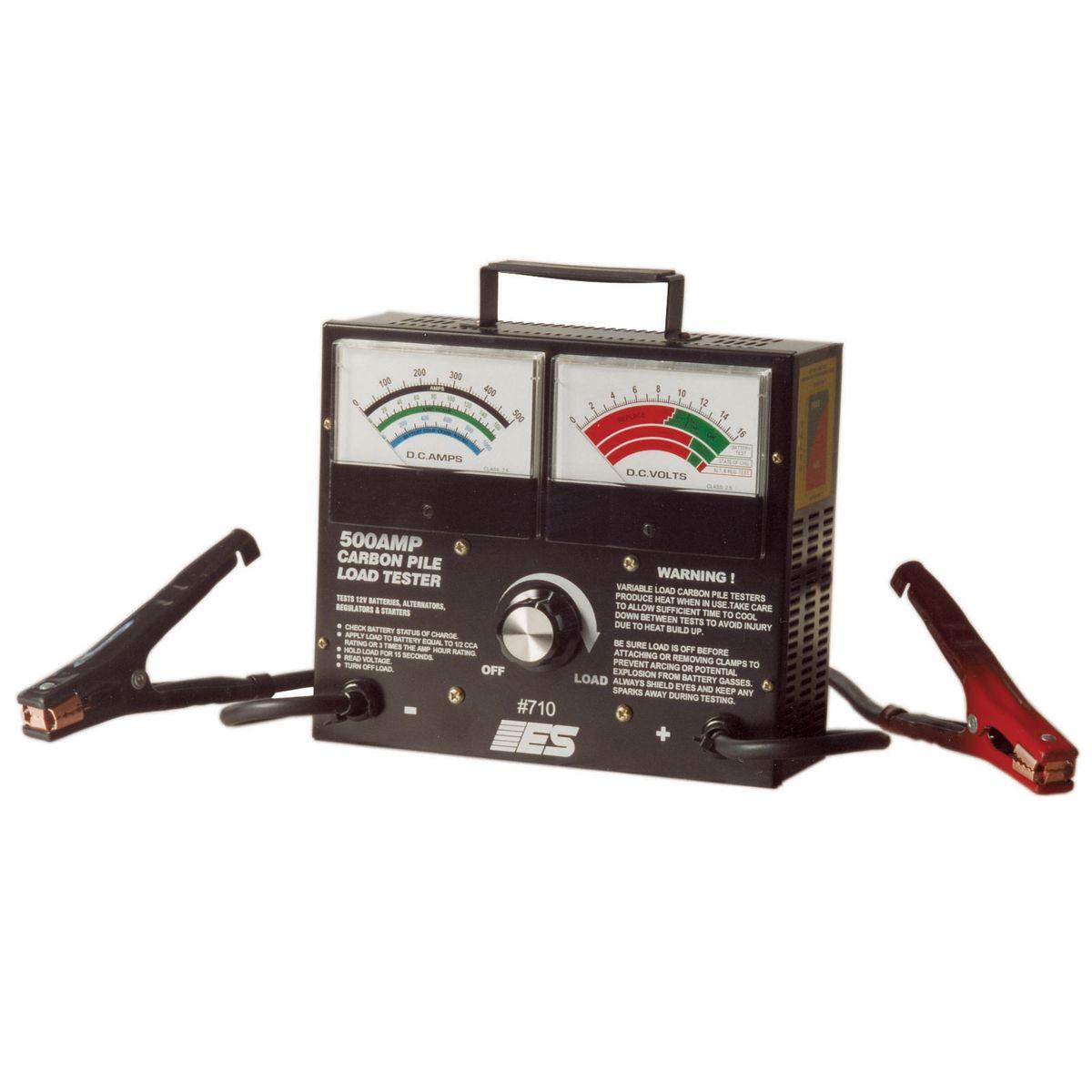 Elec Specialties 706 Digital Battery Tester W//Auto Test