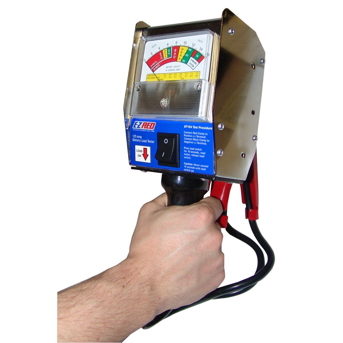 8 Volt Battery Load Tester : E z red amp load tester pistol grip bt