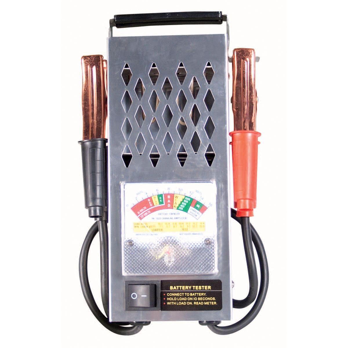 12 Volt Battery Tester Review : Fjc battery tester amp