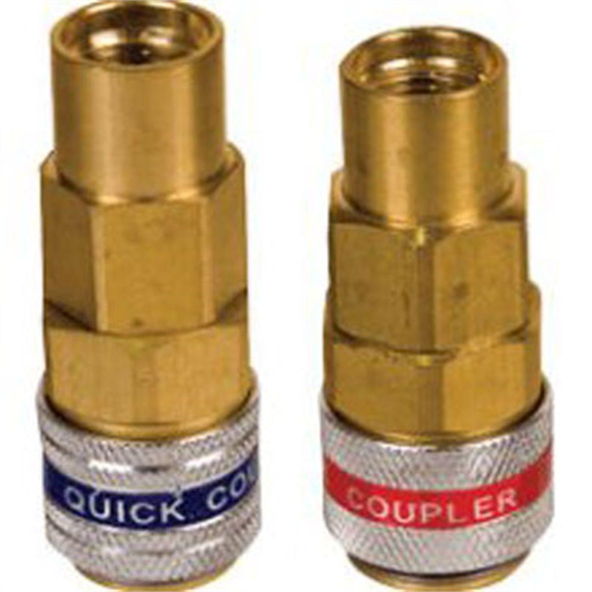 FJC 6012 R134a Quick Coupler Set