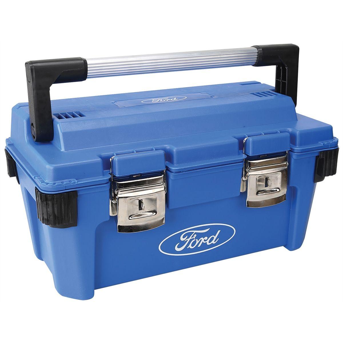 Ford Tools Tool Box Hd Plastic 19 7x10 8x10 4 Fmcfht0315