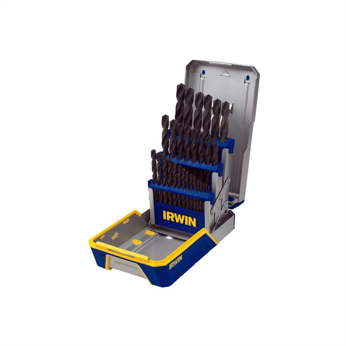 118 point Black oxide 12 PCS 11//64  Irwin Fractional HSS Jobber Drill Bits