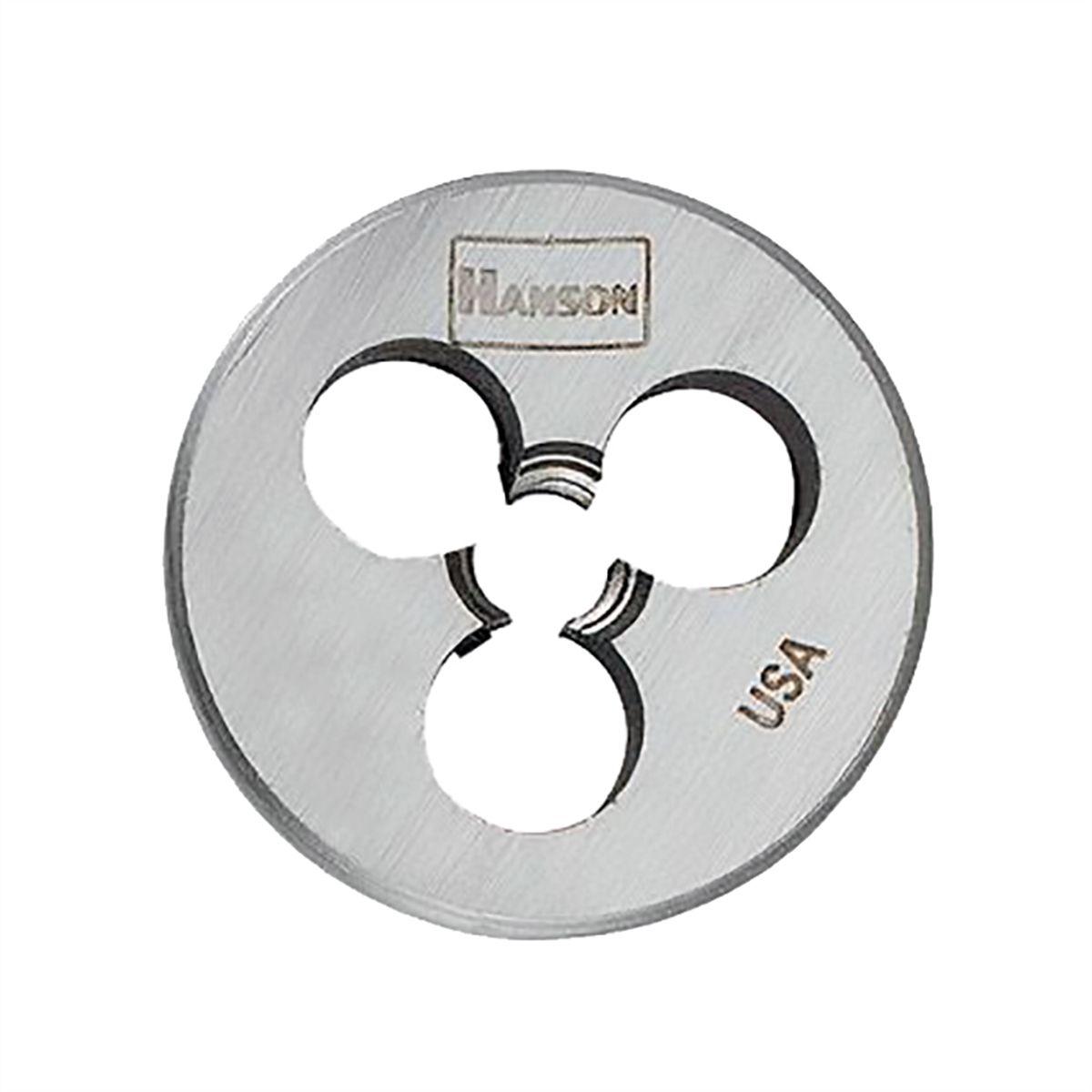 "Hanson 6112 High Carbon Steel Hexagon 5//8/"" Across Flat Die 4-40 Nc"