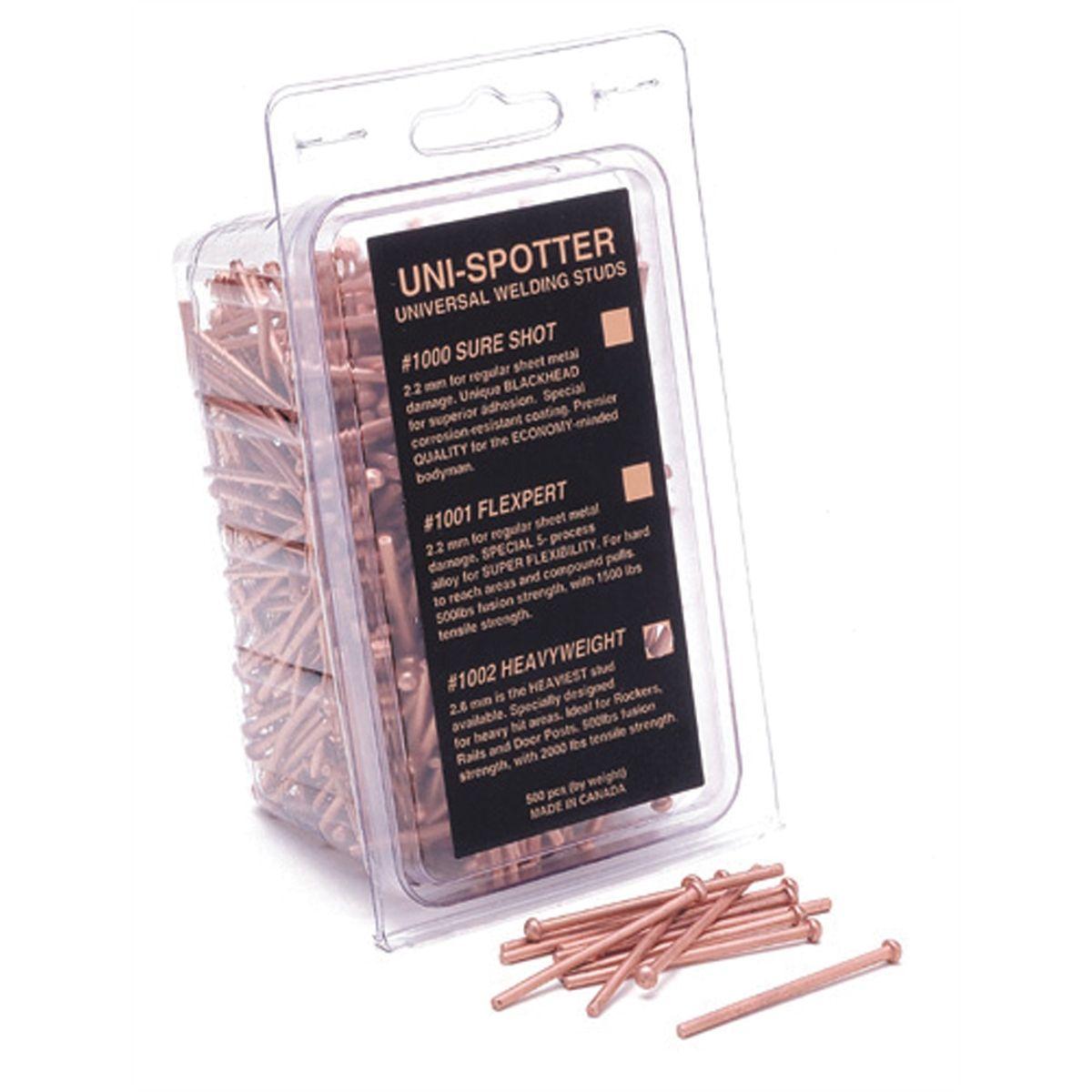 2.6mm Heavy Weight Studs 500 per pack UNI-1002 Brand New!