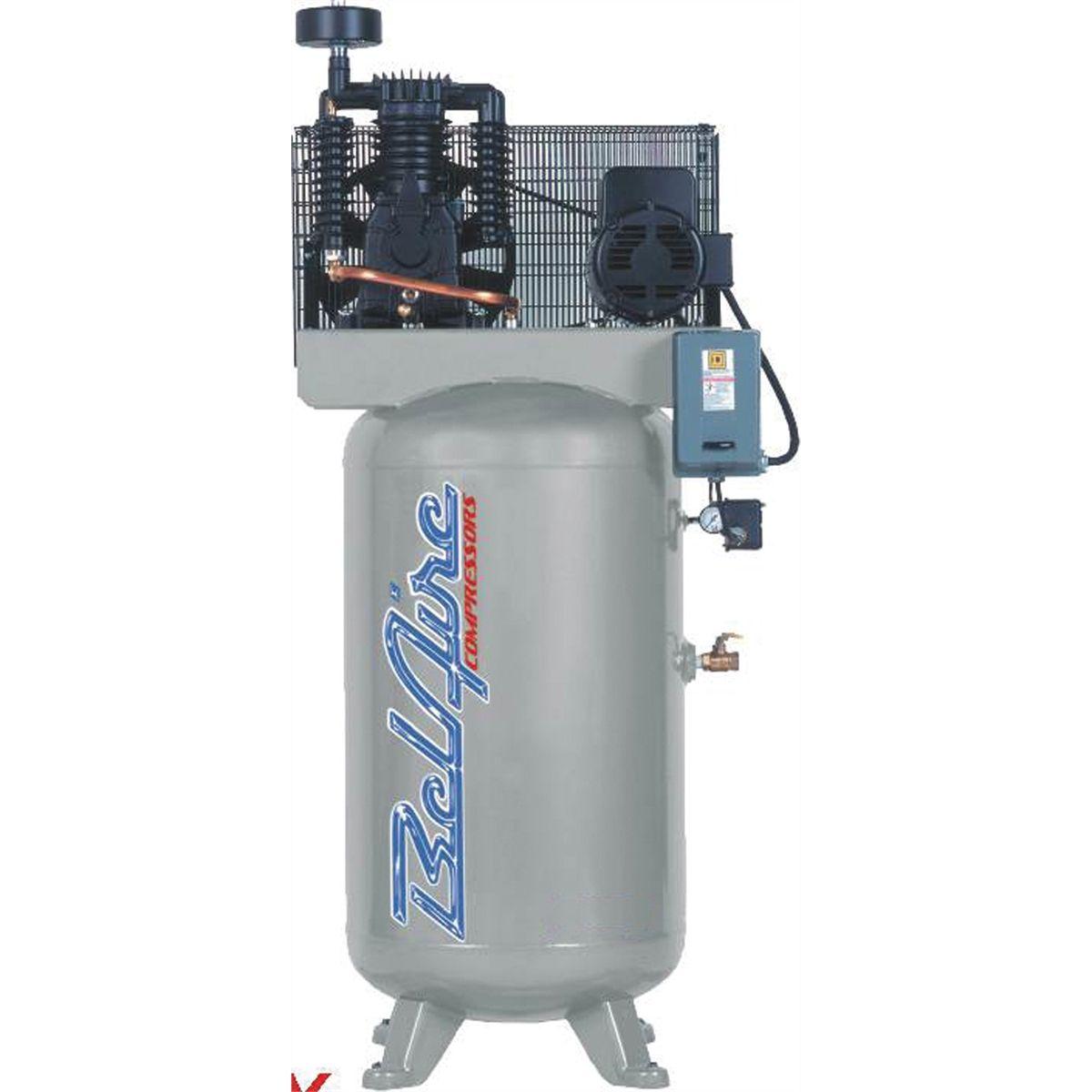 Single Phase Compressor : American imc ve hp gallon single phase elite
