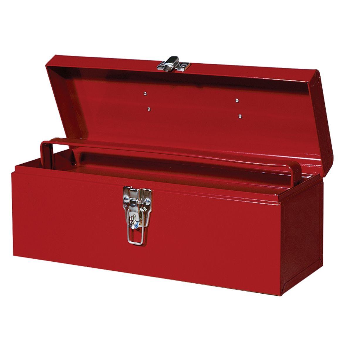 International Tool Boxes B528 19 Metal Hand Tool Box Itbb528. Adjustable Height Desk. Exercises To Do At The Desk. Drop Leaf Bar Table. Used School Desks. Dental Office Hiring Front Desk. Double Drawer Dishwasher. End Table Size. Ikea Hacks Desk
