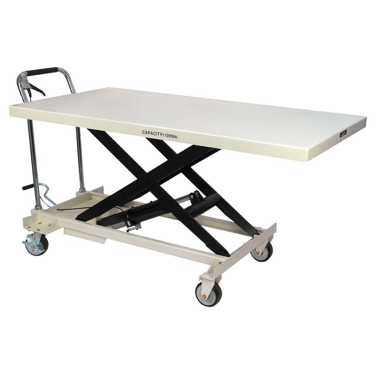 Slt 1100 Jumbo Scissor Lift Table Jet 140780