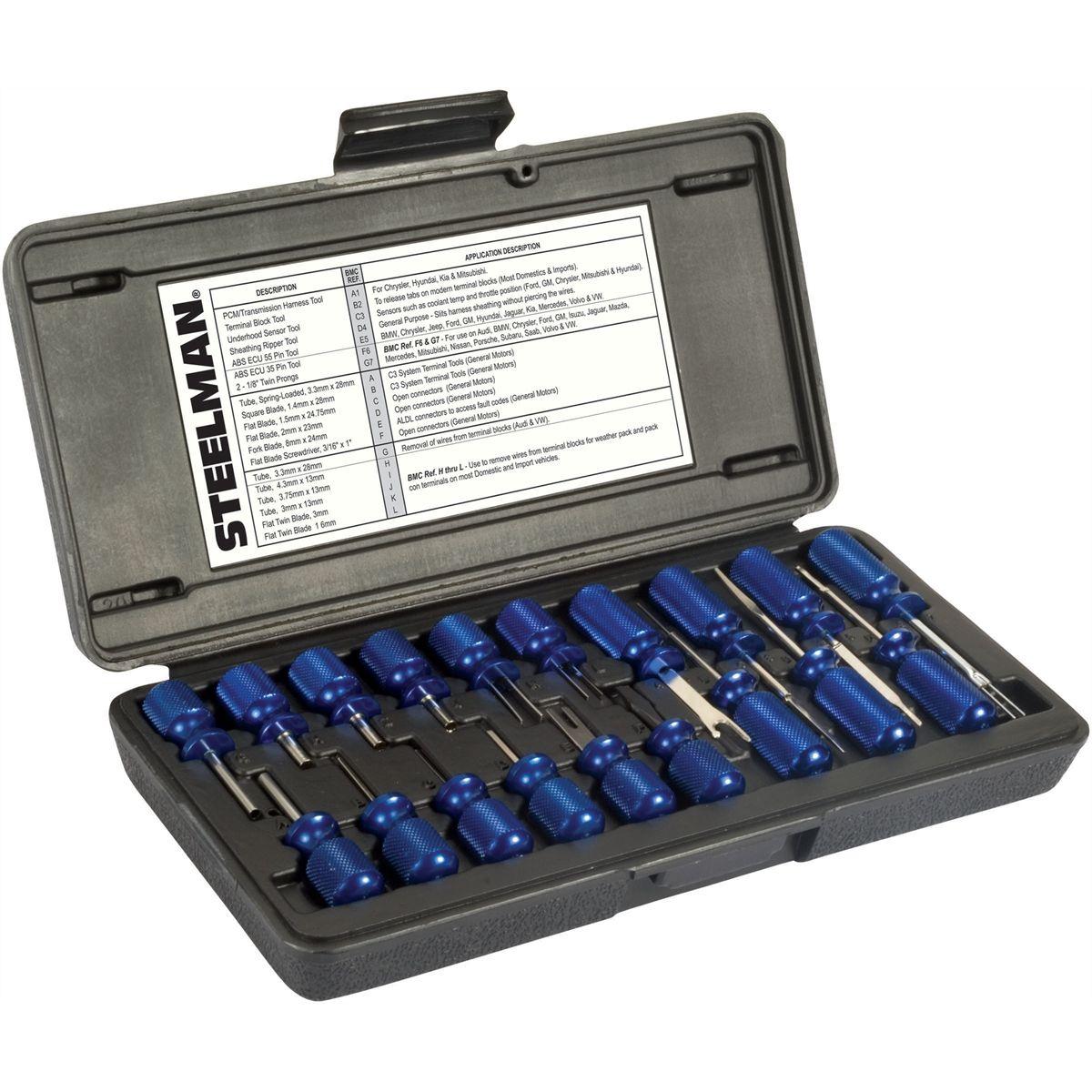 Js Steelman 95978 19 Piece Master Terminal Tool Kit Jsp95978