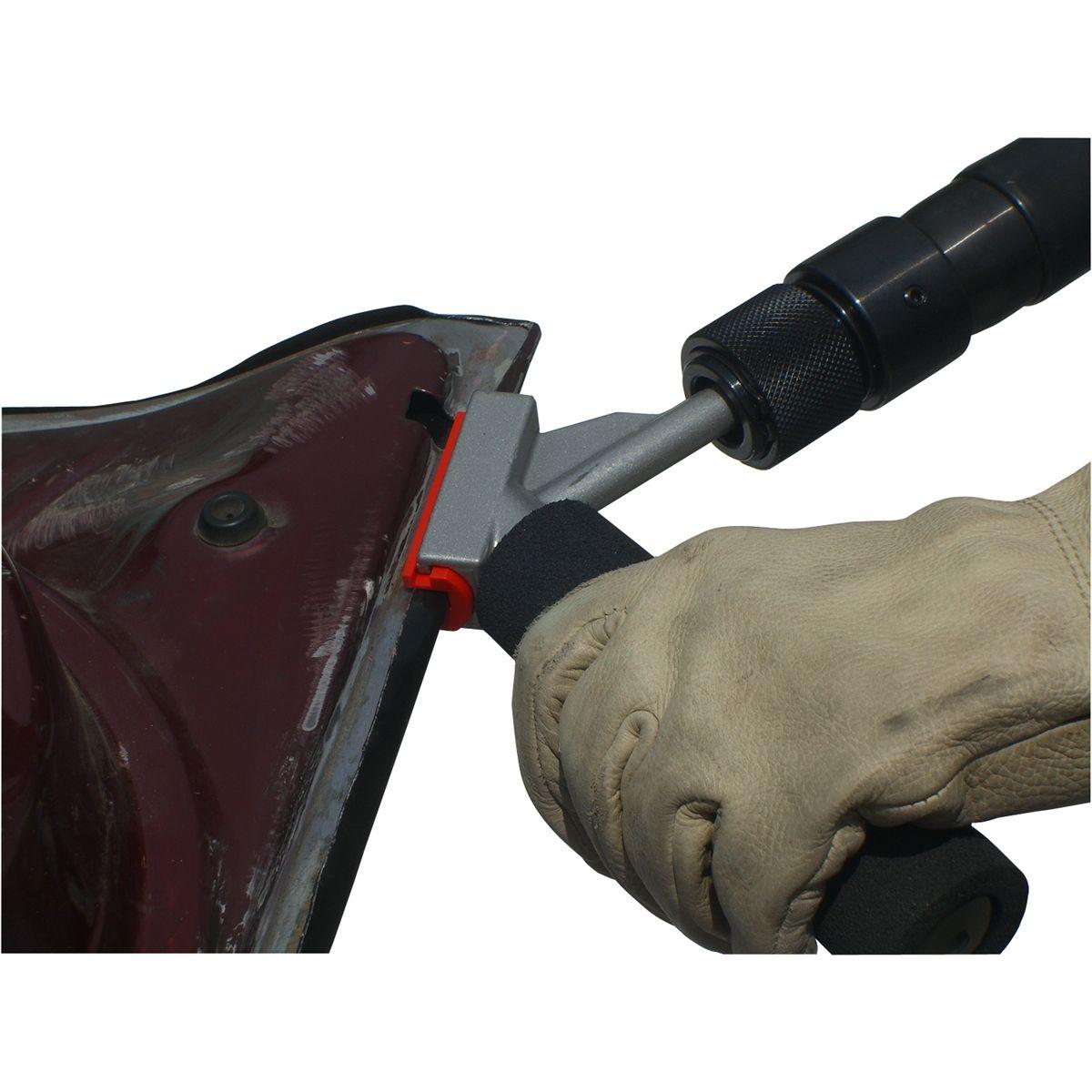 Door Skinnner Tool With Air Hammer Door Skin Tool That Goes Over Body Lines