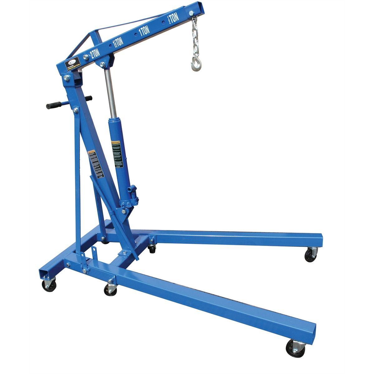 Folding Engine Crane 2 Ton Capacity K Tool International