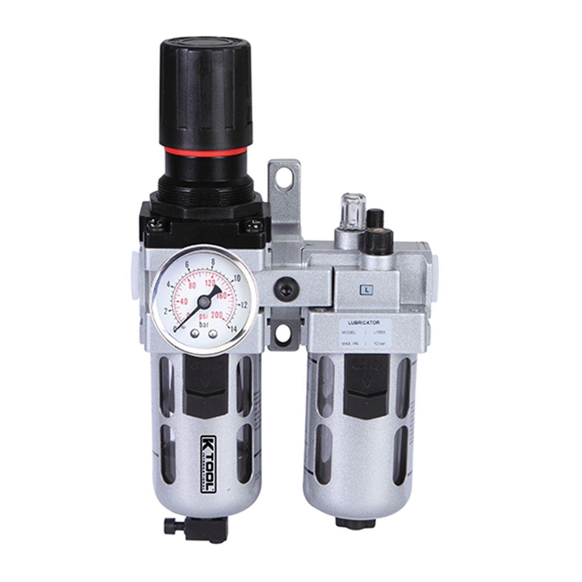K Tool International Filter Regulator Amp Lubricator Kti89195