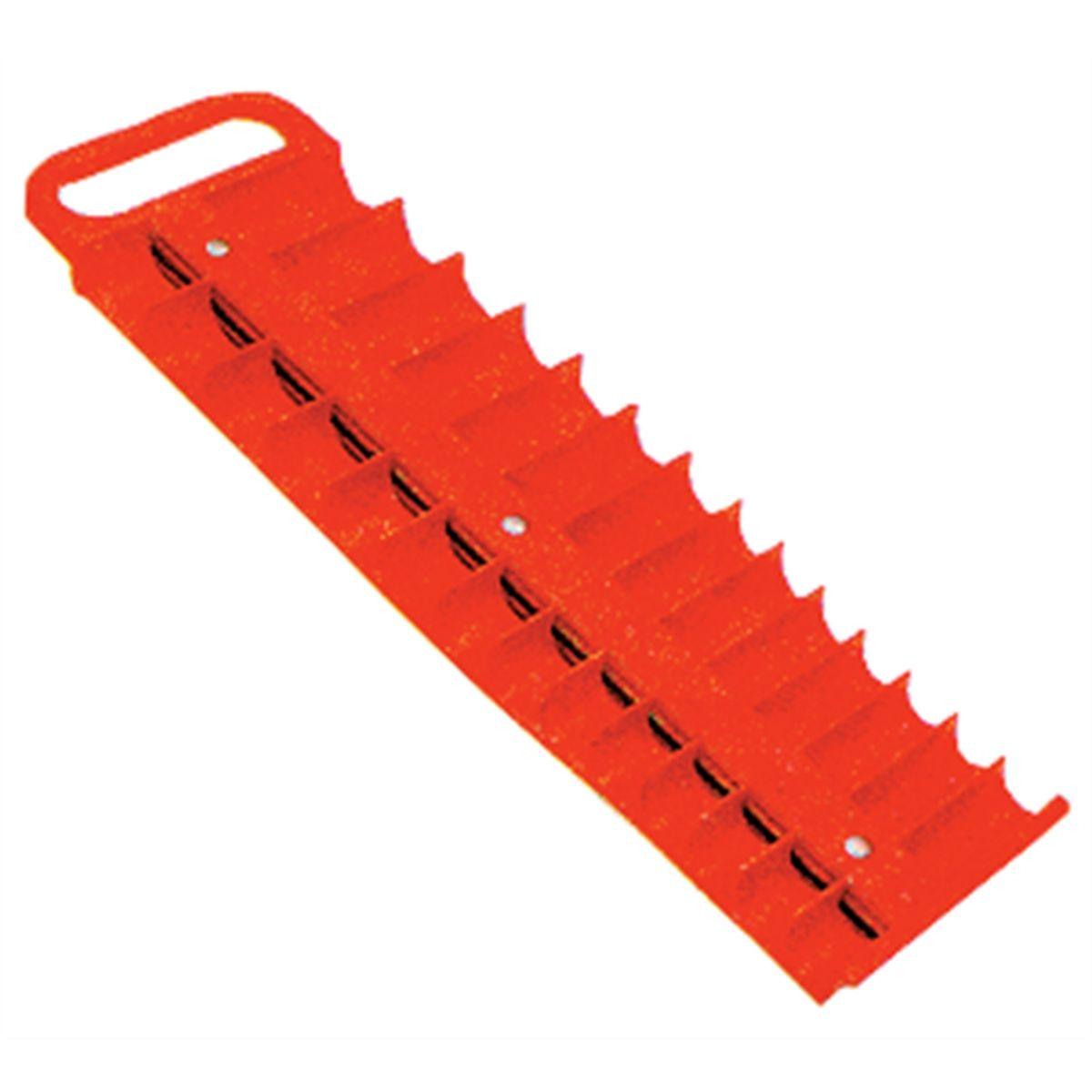 LISLE Large Magnetic 3//8�� Socket Tray Red 40200