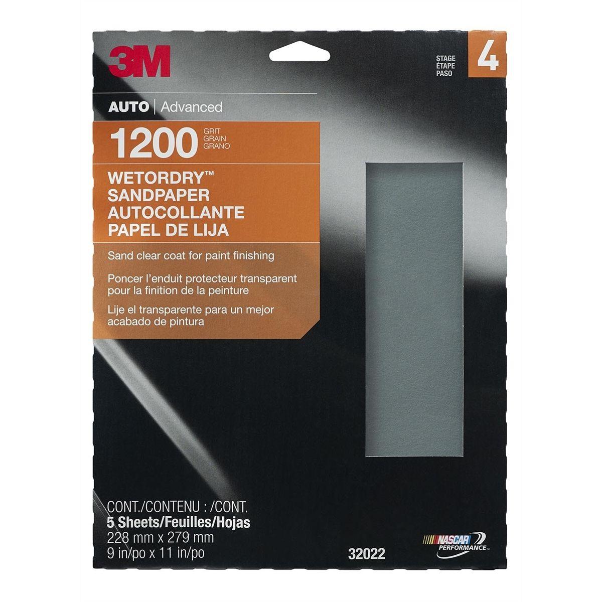5pk Quality Wet /& Dry Abrasive Sandpaper 600 Grit