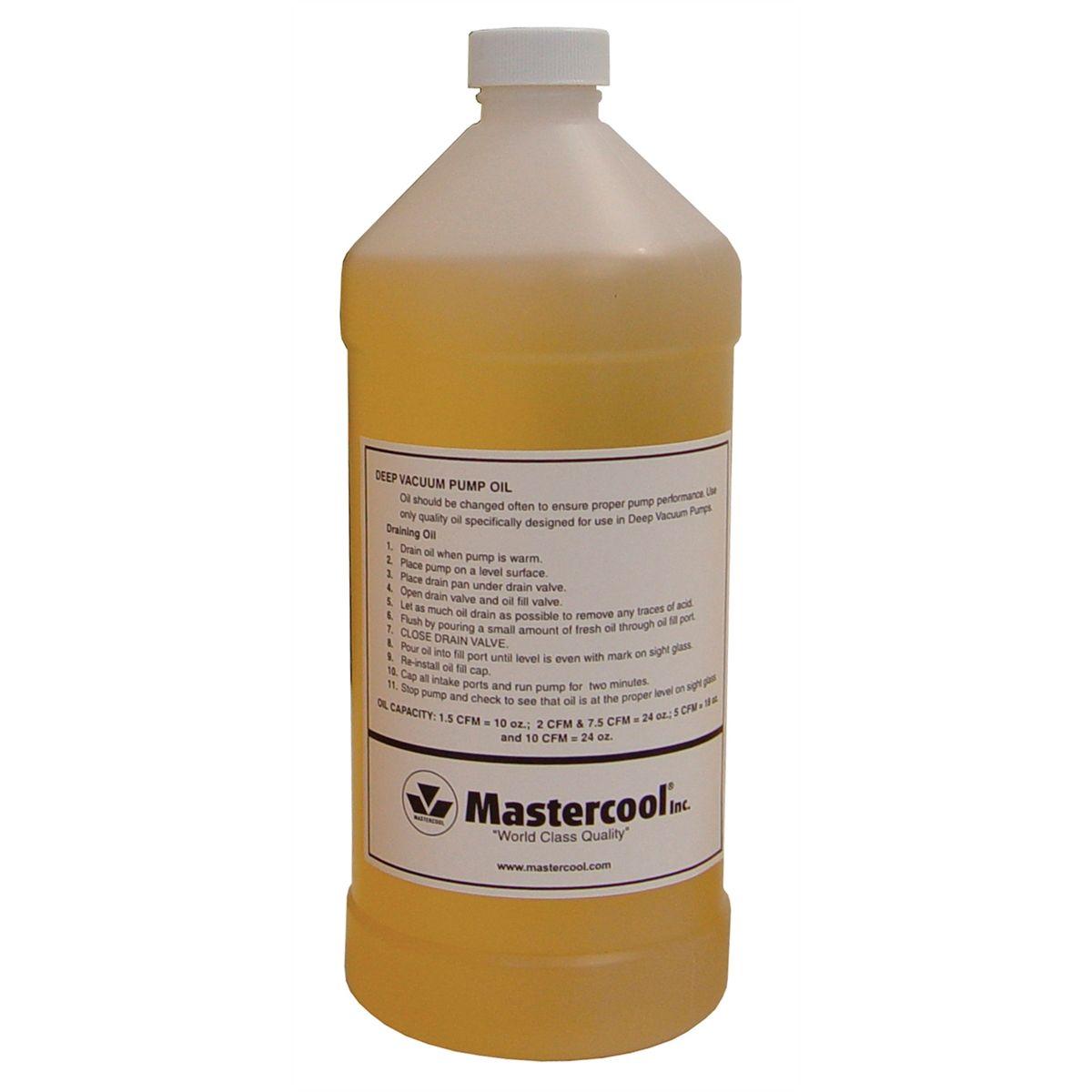 32 oz  Bottle Vacuum Pump Oil