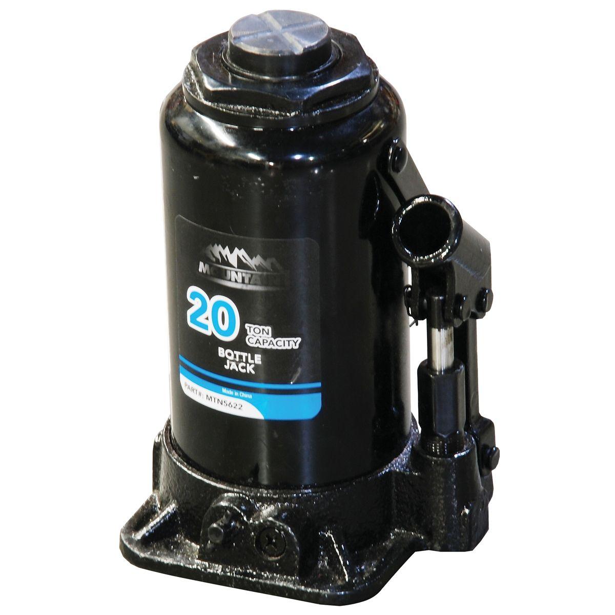 20 Ton Capacity Bottle Jack Mountain 5622a