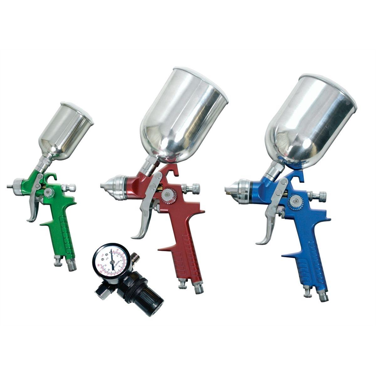 Hvlp Spray Gun Kit >> 4 Piece Waterborne H V L P Spray Gun Kit