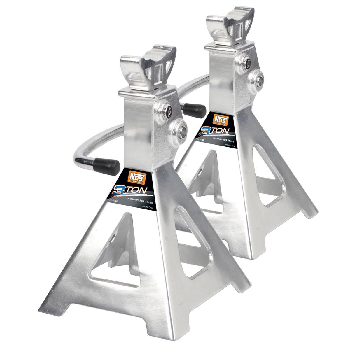 3 Ton Aluminum Jack Stand Ratchet Style Najs3t