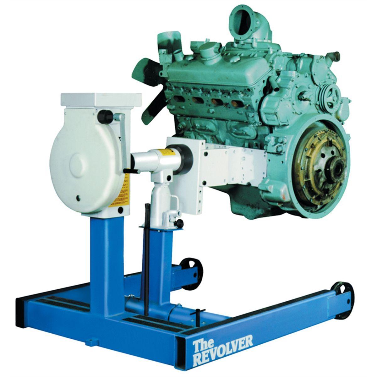 The Revolver Diesel Engine Repair Stand 6000 Lb Otc
