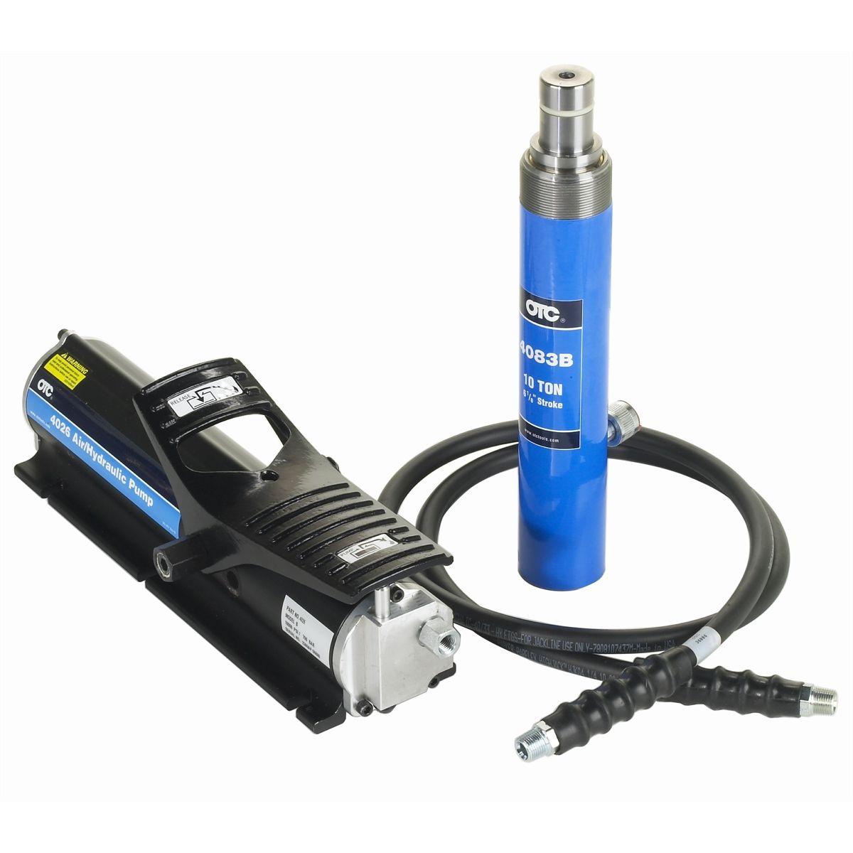 Otc 4042 Cobra Hydraulic Ram Pump Amp Hose Set Otc4042