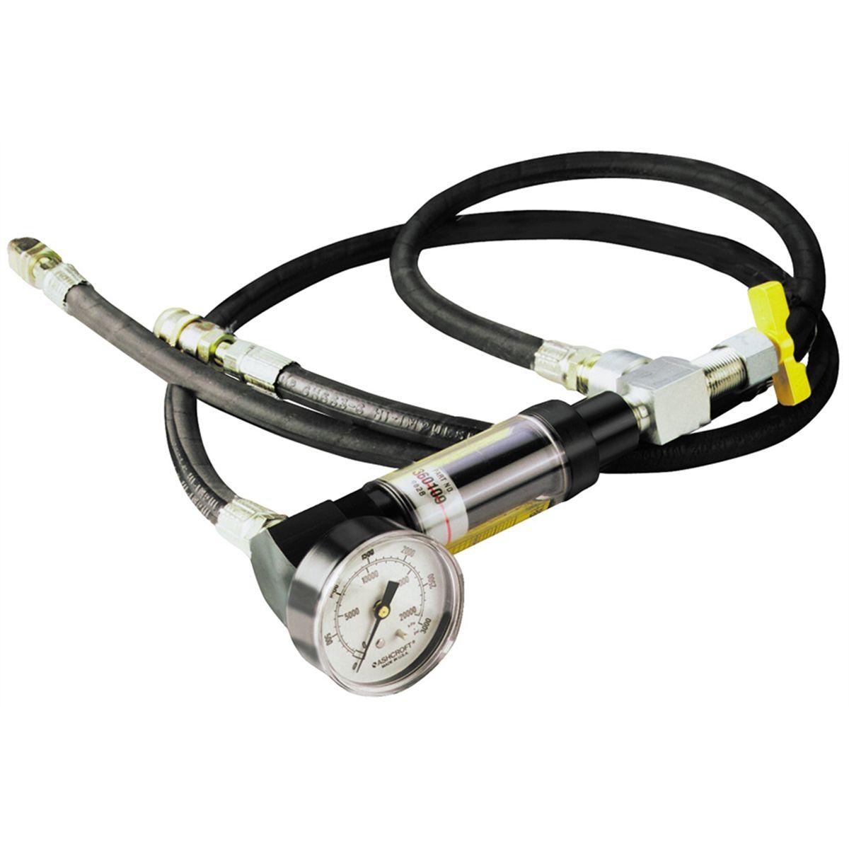 Heavy Duty Power Steering Pump Analyzer Flowmeter Otc Spx 5079 System