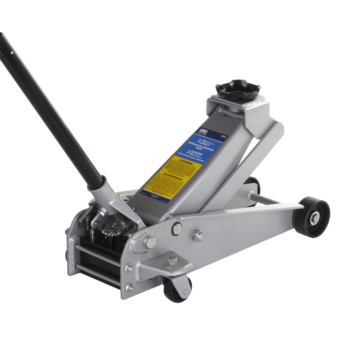 Stinger 3 Ton Hydraulic Service Jack Otc 5303