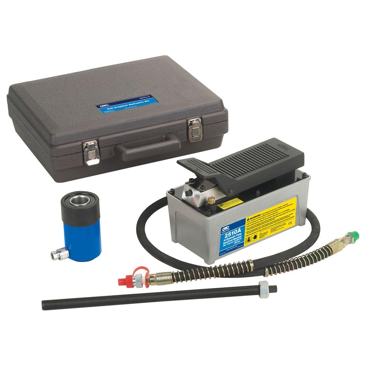 hub grappler hydraulic tool kit otc 6575 3 rh toolsource com hub grappler application guide download Hub Grappler Manual