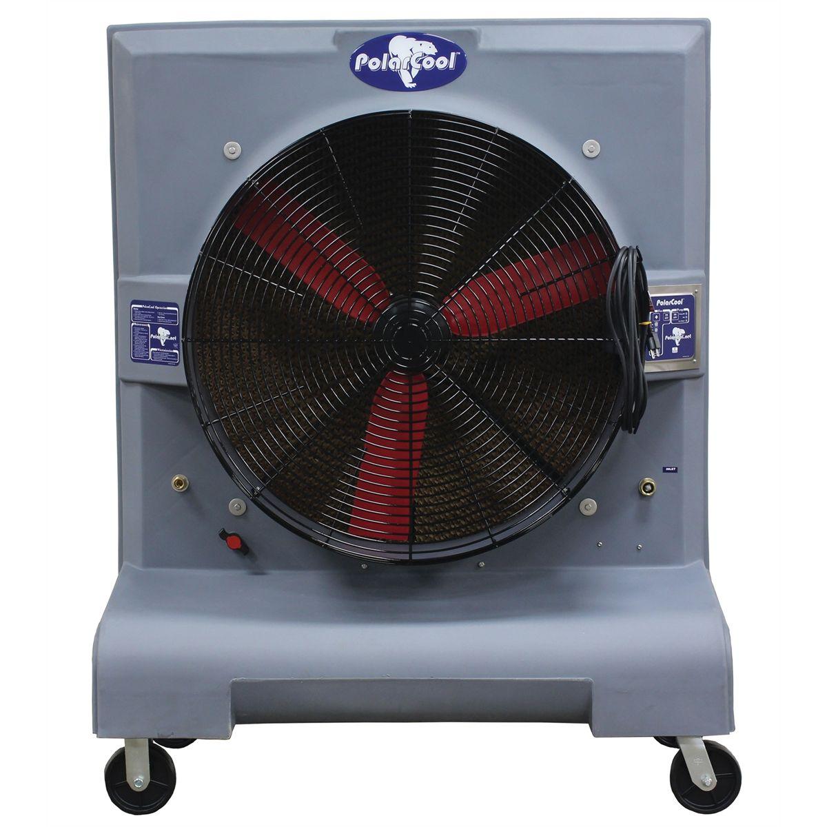 Portable Cooling Fans : Zone k portable evaporative cooling fan polarcool